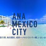 メキシコが近くなった?!ANAがメキシコ直行便就航したよ!