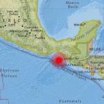 メキシコ、チアパス州の地震について(2017年9月7日、8日)