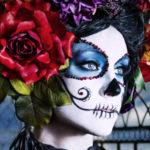 【動画あり】ハロウィンにも使える!メキシコ「死者の日」メイク。ハロウィンコスプレカップルメイクもあるよ!