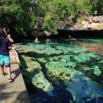 穴場!「セノーテ・アスール(Cenote  Azul)」